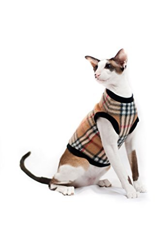 Kotomoda Cat sweater Beige cell B077NS6VLN
