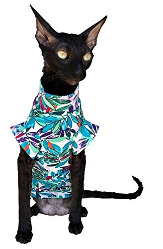 Kotomoda Cats T shirt LEAVES B07SFHBVBV