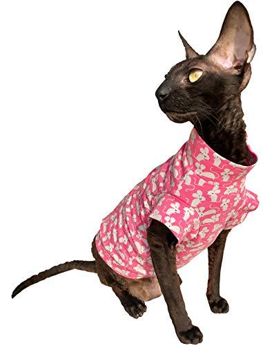Kotomoda Cats T shirt Sweet mouses B07QKJ6LTD