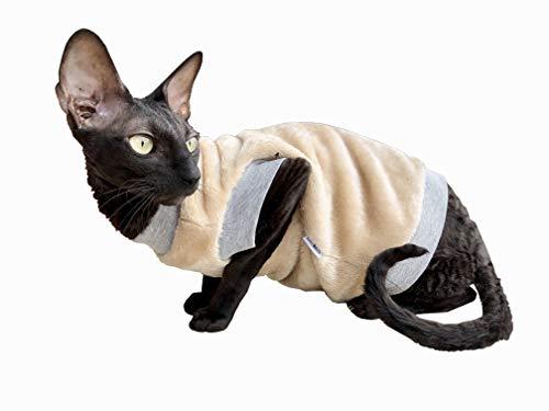 Kotomoda Cats pullover Biege Mantle B07KK5T6FJ