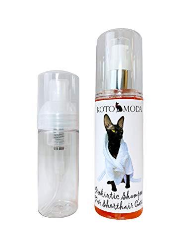 Kotomoda Probiotic shampoo for Shorthair Cats 120 ml with foam pump B08Q4JH3GC