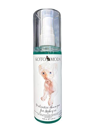 Kotomoda Probiotic shampoo for Sphynx Cats 120 ml B07T8S7FH7