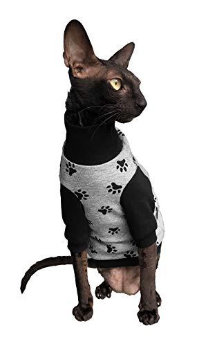 Kotomoda Sphynx Cats winter sweater HappyPaws Naked Cat Hairless Cat Clothes B07YYHQKWV
