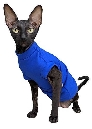 Kotomoda cat wear turtleneck maxi Winter In Blue B07J2DM3F8